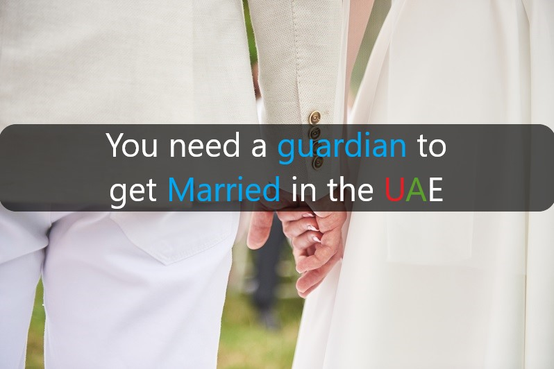 female need a guardian to get married in the UAE