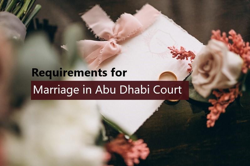 Getting married in Abu Dhabi